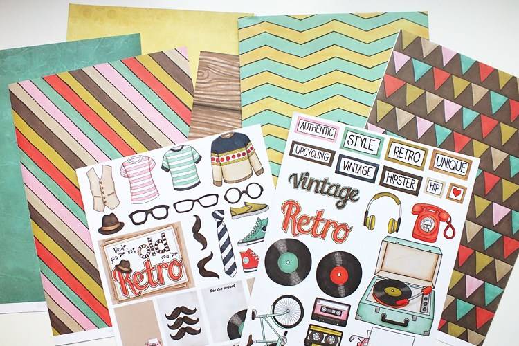 Kate Hadfield Designs: Hip Hip Hipster pack