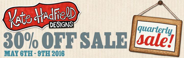Kate Hadfield Designs iNSD sale 2016