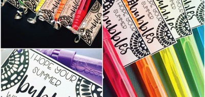 Primary Punch class gift ~ Kate Hadfield Designs