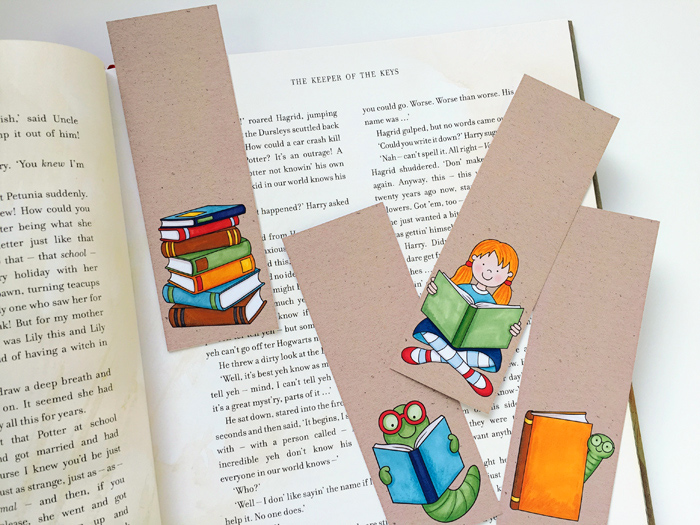 Easy DIY gift idea Bookmarks