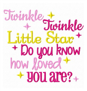 Pink Quote Saying Wallpaper Twinkle Twinkle How Loved You Are Saying
