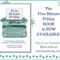 today's the day! the five minute friday BOOK is now available!