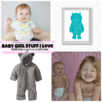 Pregnancy Update plus Baby Girl Stuff I Love