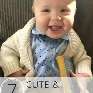 7 Cute and Comfy Baby Halloween Costumes your baby can wear after Halloween is over! Such adorable ideas!