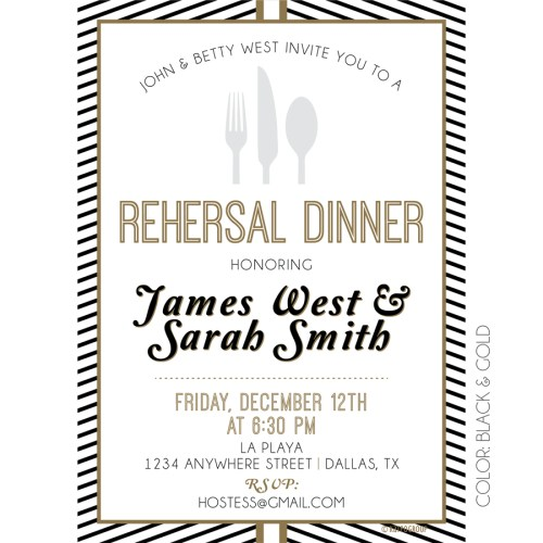 Medium Of Rehearsal Dinner Invitation Wording