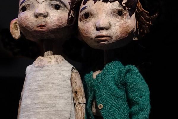 Hansel & Gretel puppets by Jan Zalud