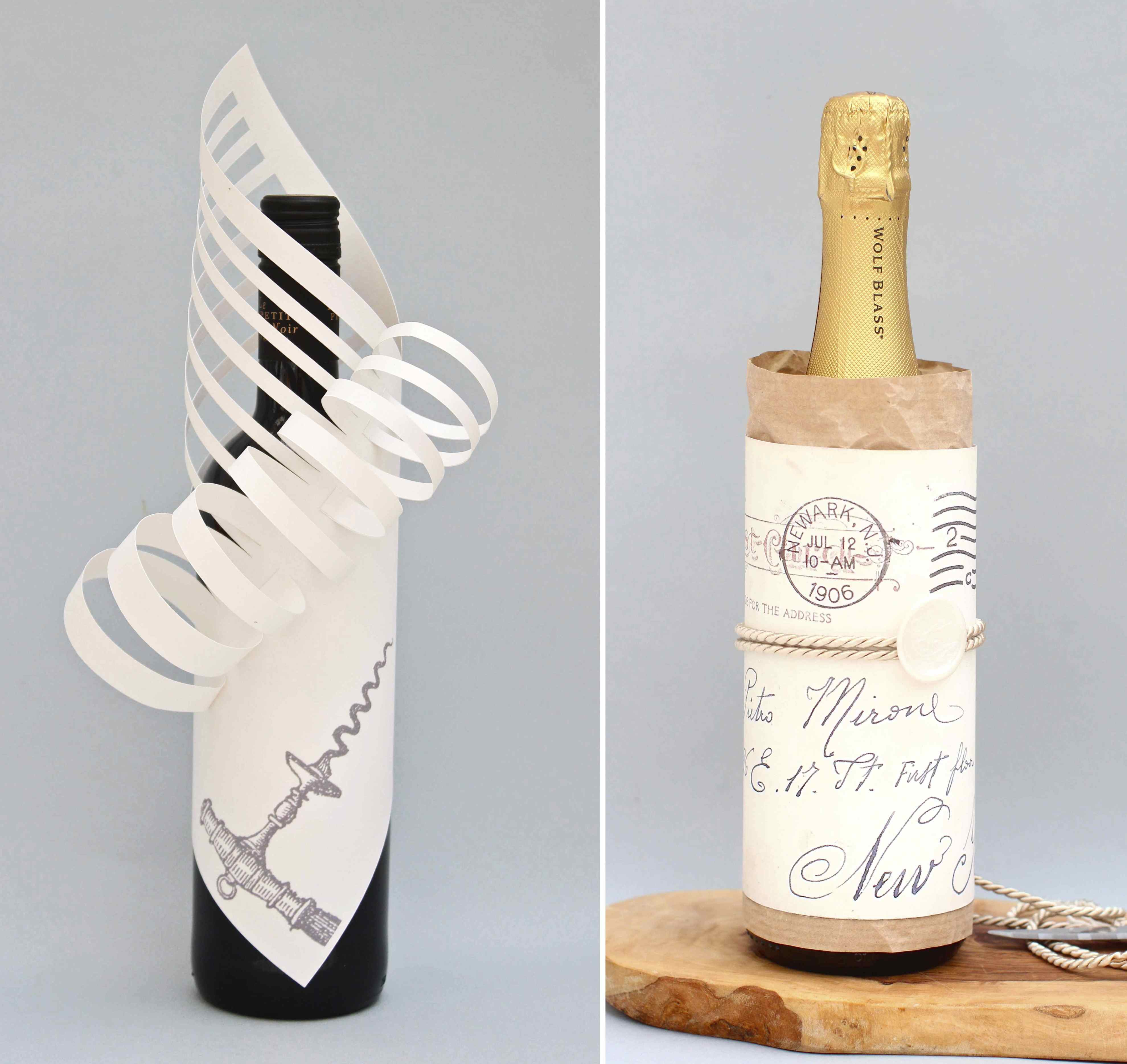 Funny Wine Bottle Holders Gift Wrapping On Pinterest Wrapping Gift Bags And Packaging