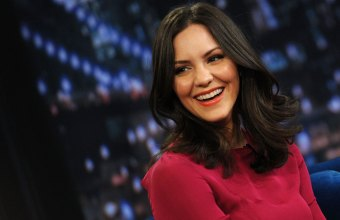 Katharine McPhee at Late Night with Jimmy Fallon