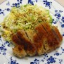 Tonkatsu Breaded Pork Cutlets In The Kitchen With Kath