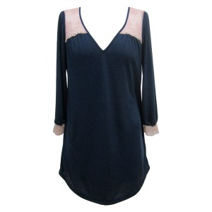 Emilia Tunic, Midnight Rosette