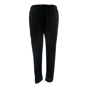 Rosette Slim Pant, Black