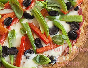 Meatless Monday, Gluten Free Veggie Pizza