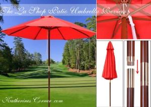 the la shop patio umbrella product review