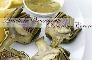 Meatless Monday Artichoke Vinaigrette