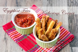Meals On Monday Eggplant Fries or Zucchini Fries