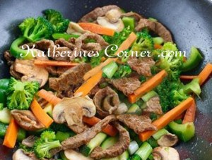Meals On Monday Beef and Broccoli