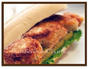 Meals On Monday Crab Cake Hoagie