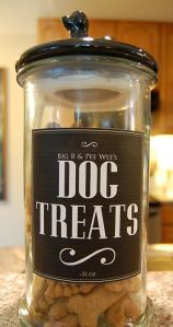 Pet Treat Labels