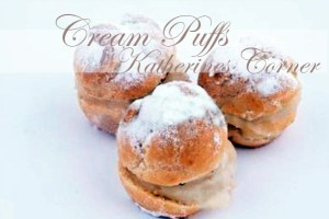 Meals On Monday Cream Puffs