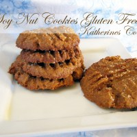 Meals On Monday, Soy Nut Cookies Gluten Free