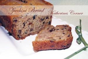 Meatless Monday Katies Super Secret Zucchini Bread