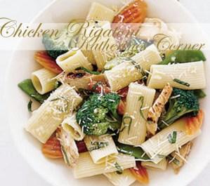 Chicken Rigatoni