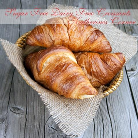 sugar free dairy free croissants katherines corner