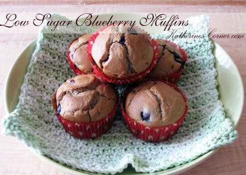 low sugar blueberry muffins katherines corner