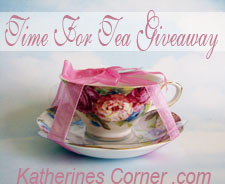 time for tea giveaway button katherines corner