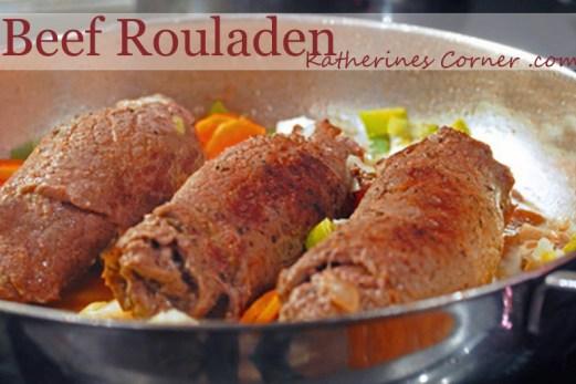 beef rouladen recipe