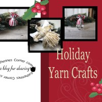 Holiday Yarn Crafts