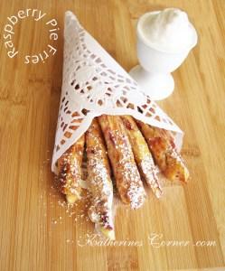 Raspberry Pie Fries