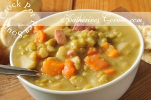Crock Pot Pea Soup