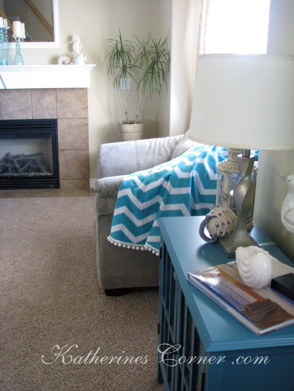chevron pattern throw