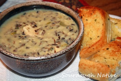 creamy chicken wild rice soup