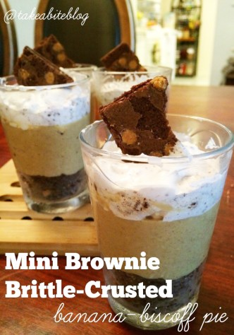 mini brownie brittle pie