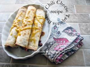 Baked Chili Cheese Taquitos