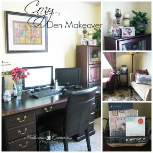 Cozy Den Makeover What I Did Wrong