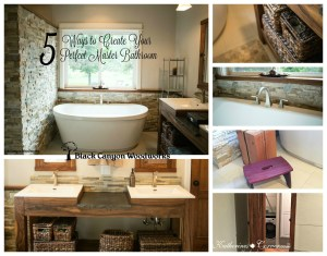 5 Ways to Create Your Perfect Master Bathroom
