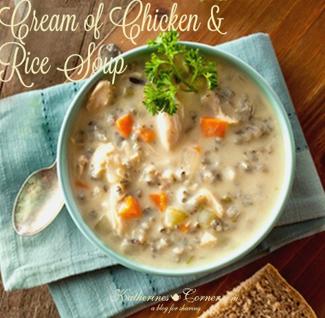 Cream of Chicken and Rice Soup