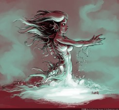 Mermaid Foam