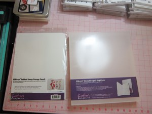 EZ Mount Stamp Storager Binders and Binder Pages