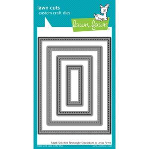 Lawn Fawn Small Stitched Rectangle Dies
