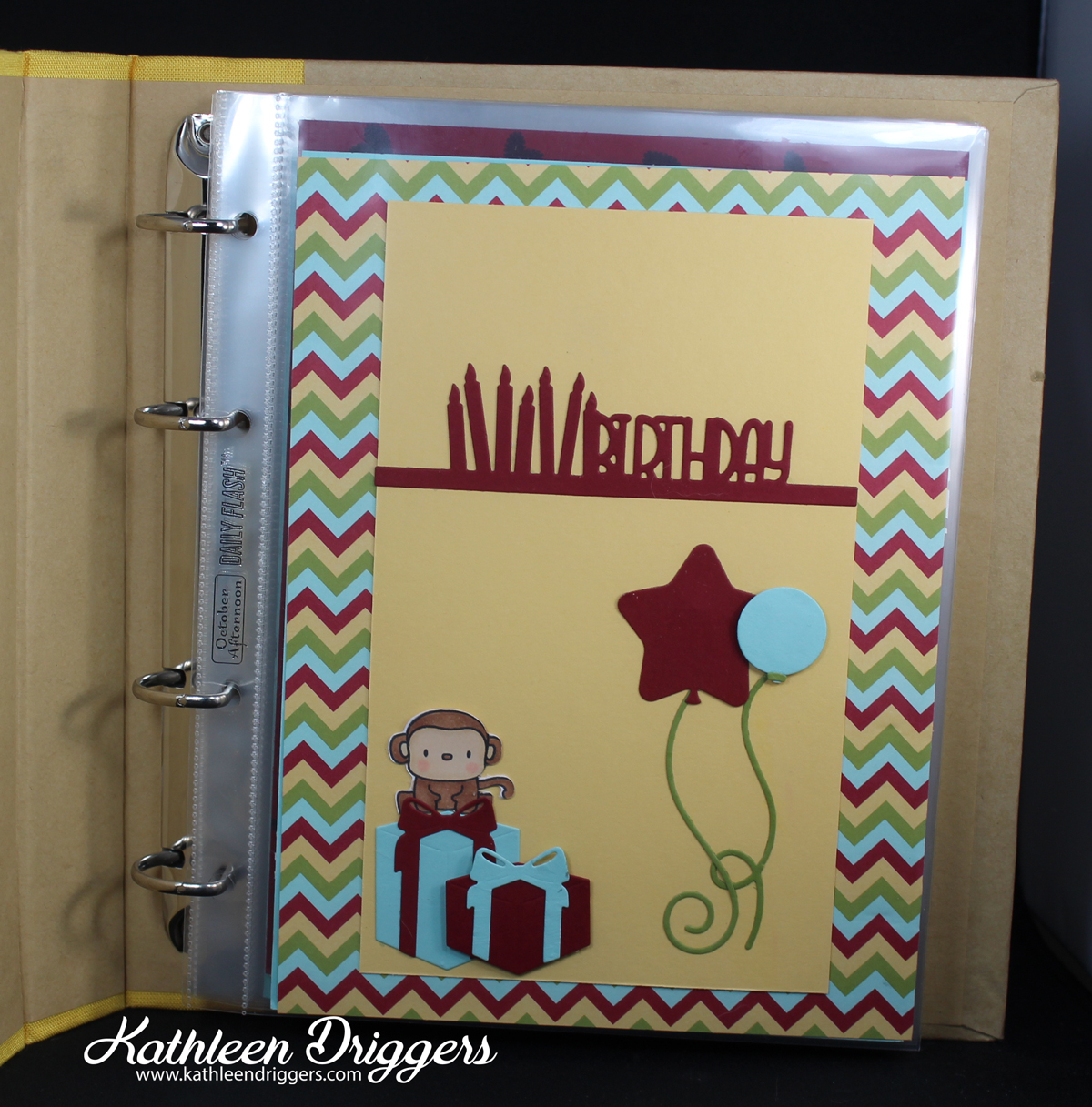 how to create a birthday calendar reminder book kat 39 s adventures in paper crafting