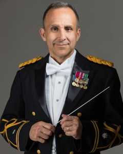 Army Field Band COL Jim R Keene