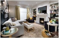 New Family Room from Candice Oslon Tells All