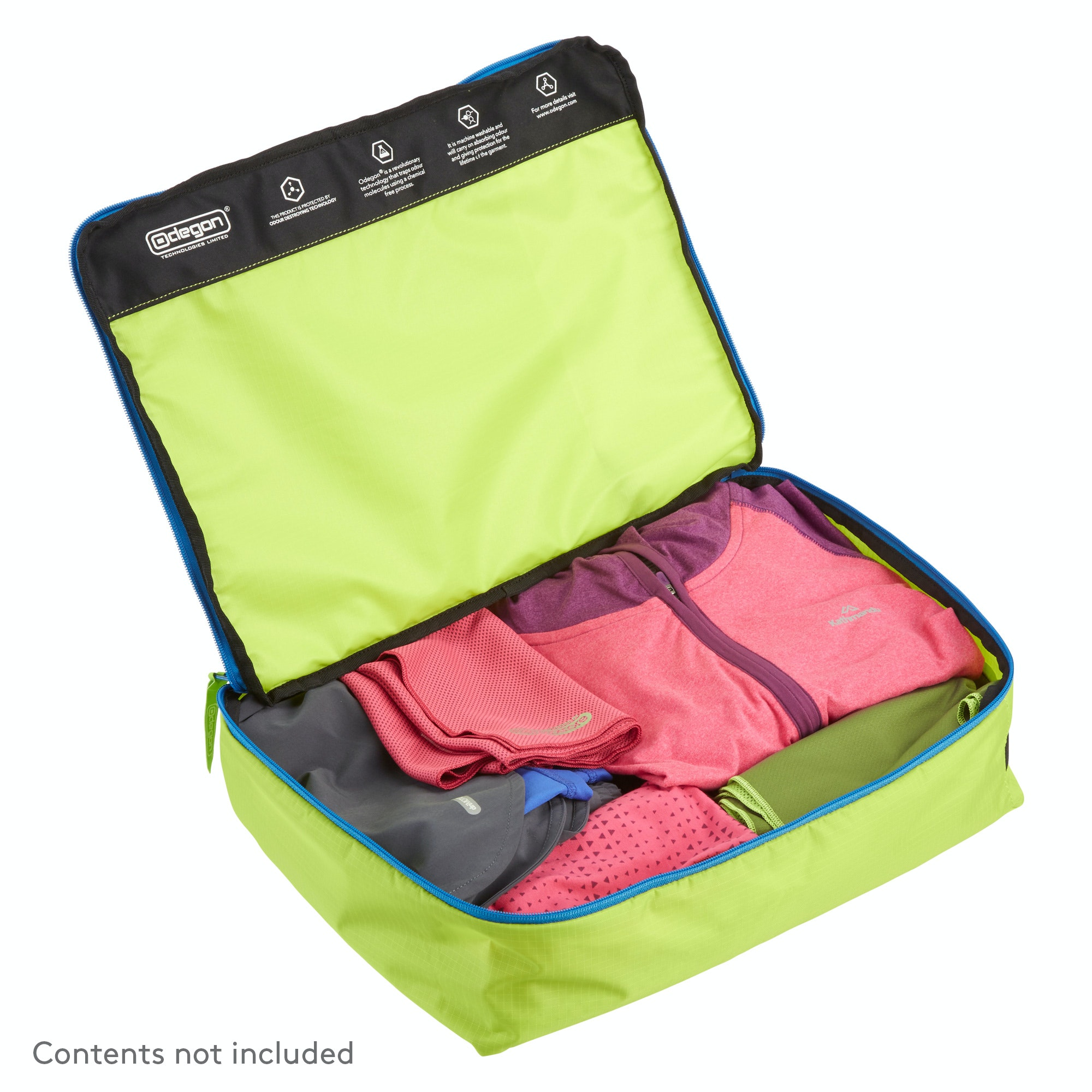 Packing Cells Details About New Kathmandu Anti Odour Clothing Storage Cell Gym Sports Gear Travel Bag