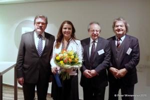 v.l.n.r. Dr. Hugo Müller-Vogg, Birgit Kelle, Dr. Jörg Mutschler, Helmut Markwort