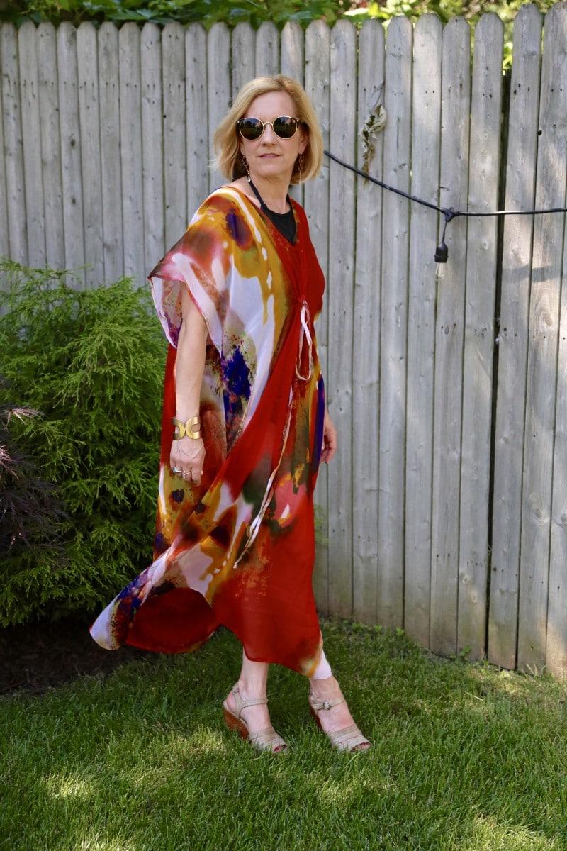 Glam Caftan - Kathrine Eldridge, Wardrobe Stylist