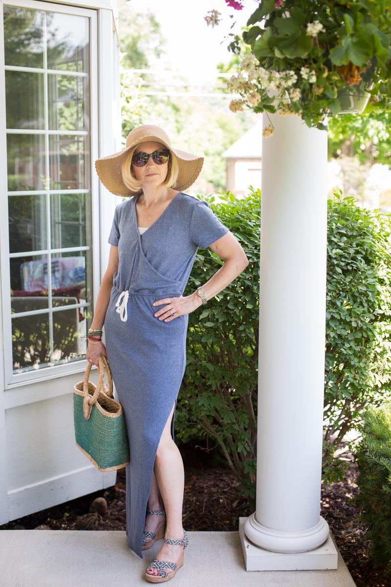 Casual Blue for the 4th - Kathrine Eldridge, Wardrobe Stylist